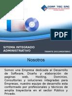 Presentacion sistema integrado administrativo