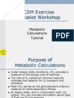 2005 Metabolic Calc Tutorial