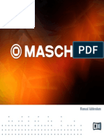 MASCHINE 2 Manual Addendum English