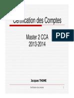 Cours Audit 1ère Partie 2013-2014 FFBC