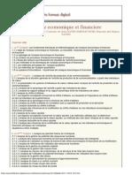 Analyse Economique Et Financiere