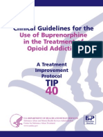 Bup Guidelines