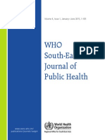 WHO South-East Asia Journal of Public Health