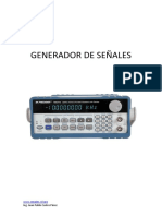 GENERADOR DE SEÑALES