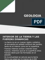 INTERIOR DE LA TIERRA Y LAS FUERZAS DINAMICAS