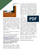 Residuos Solidos de Trujillo y a Nivel Nacional