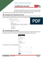 Démo - Analyse Et Modification Du Devis