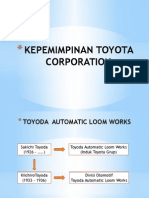 Silsilah Pimpinan Toyota Corporation