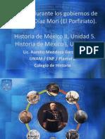 Mexico durante los gobiernos de porfirio diaz.