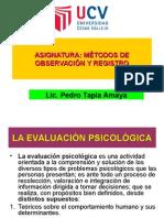 Clase - El Informe Psicológico