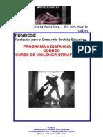 Curso de Violencia Intrafamiliar