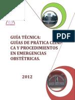 Guia Tecnica de La Practica Clinica en Emergencias Obstetricas 2012 Hospital Amazónico Go