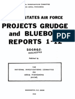 Projects GRUDGE and BLUEBOOK Reports 1-12