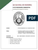 Pruebas Hidraulicas en Obras de Agua Potable, Alcantarillado y Drenaje Pluvial.