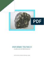 Informe Clasificacion de Tipos de Rocas - Cinthya Tello Aguilar