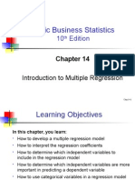 Multiple Regression ppt