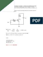 Estudo de Caso 2014-1 - Eletrônica Analógica