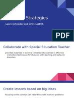 teaching strategies powerpoint