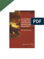 La Lucha de Clases en El Apogeo de La Revolución Francesa