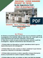 CURSO Taller de Investigación I-2015.ppt