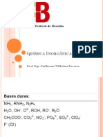 Quimica Inorganica 3 - Aula 6 Acido Base
