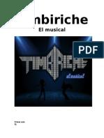 Timbiriche El Musical!!!!! libreto