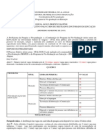 Edital 49-2015 RETIFICADO 30.11 -Mestrado e Doutorado Em Educacao
