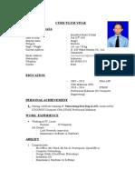 Curriculum Vitae - Mannawari Syam