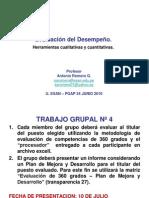 (1) Evaluacion Desempeño - Pgap 34 (Alumnos ) Junio 2010 Xxxx