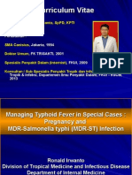 Typhoid Fever in Special Case