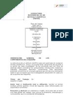Estructura Básica Del Paper (2015-2) (1)