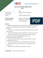 RPP Memahami Prinsip Bisnis