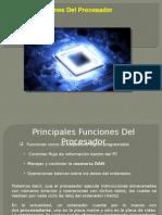 Funciones Del Procesador