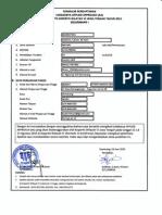 Lampiran 2 Formulir Pendaftaran Lokakarya AA Angkatan I Tahun 2015