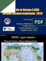 Cambios en La Norma Sismorresistente E030 CIP TRUJILLO