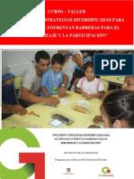 Inclusión y Estrategias Diversificadas Para Alumnos Que Enfrentan Barreras Para El Aprendizaje y La Participación‖