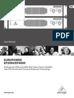 Ep2000 User Manual
