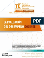 Snte Folleto Evaluar Web