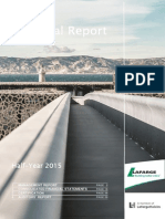 lafarge Financial Report June 2015