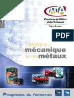 mecanique metaux