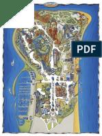 Cedar Point 2015 Map