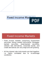Fixed Income Markets
