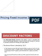 Pricing Fixed Income Securities