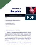 El Control de La Disciplina