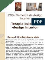 CDS- Elemente de Design Interior- Alegerea Culorilor