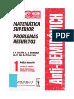 solucionario (AntiDemidovich_ Matemática Superior_ Problemas Resueltos) I.I. Liashkó... [et al.] .-Introducción al Análisis. Cálculo Diferencial p