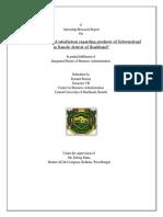 Brand Analysis of Schwarzkopf_SUmant Kumar
