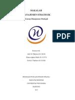 makalah manajemen strategik