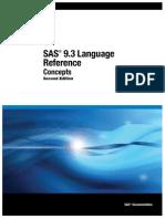 SAS 9.3 Language Reference Concepts 2Ed