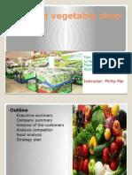 Safe Vegetable Shop